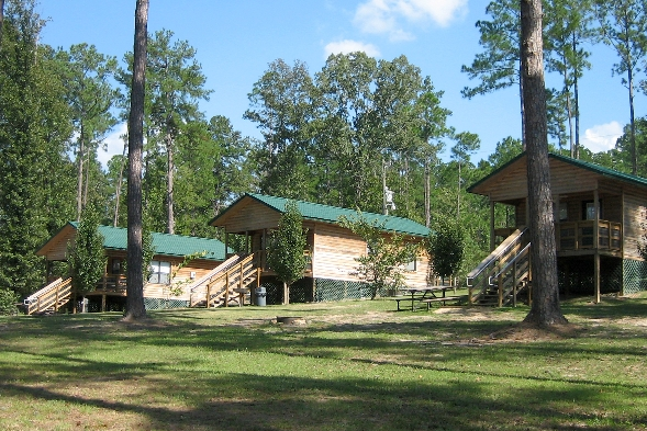Hodges Gardens State Park cabins